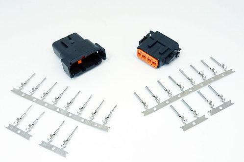 Kit Conector Deutsch 12 Vias Dtm06-12sb/dtm04-12pb