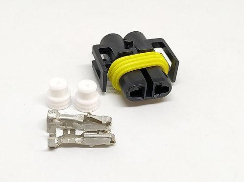 KIT Soquete Plug Conector Para Lâmpada H11