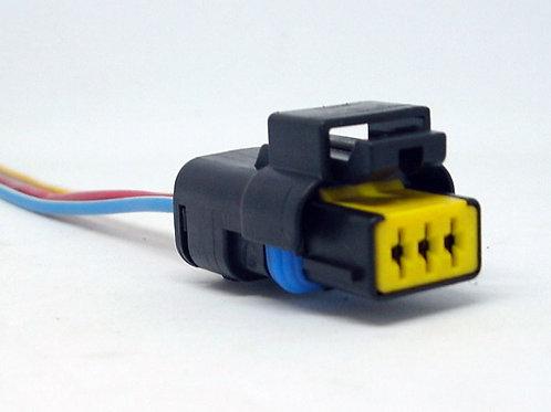 Soquete Plug Conector Sensor De Rotação Peugeot Citroen