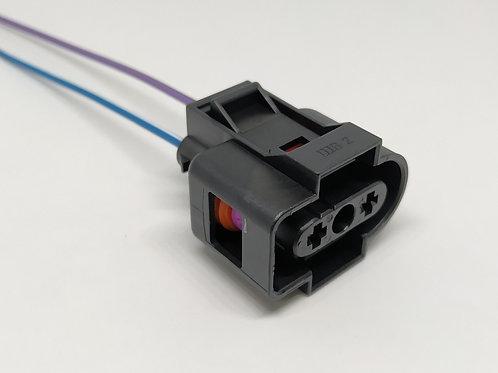 Soquete Plug Conector Reservatório Água Radiador Kombi Flex