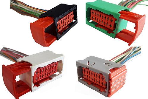 Kit 4 Conectores P/ Caixa De Fusível Citroen C3