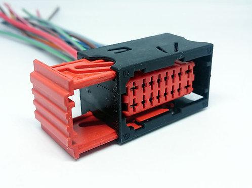 Soquete Plug Conector Preto P/ Caixa De Fusível Peugeot 206