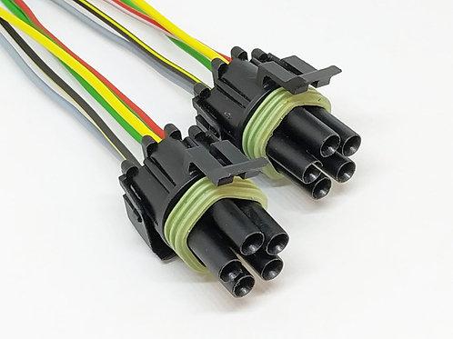 Soquete Plug Conector Farol Vectra Antigo Kit Com 02