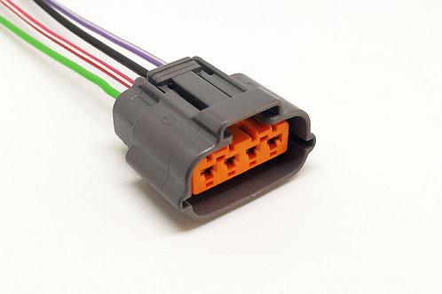 Soquete Plug Conector Regulador Volt. Mitsubishi Triton