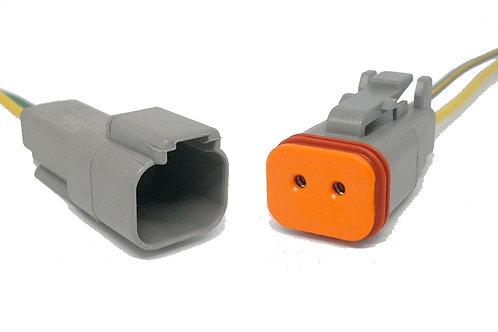 Soquete Conector Linha Agrícola Dt06-2s Dt04-2p Kit 2 Pçs