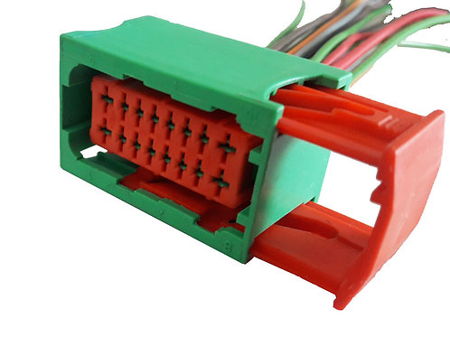 Soquete Plug Conector Verde P/ Caixa De Fusível Peugeot 206