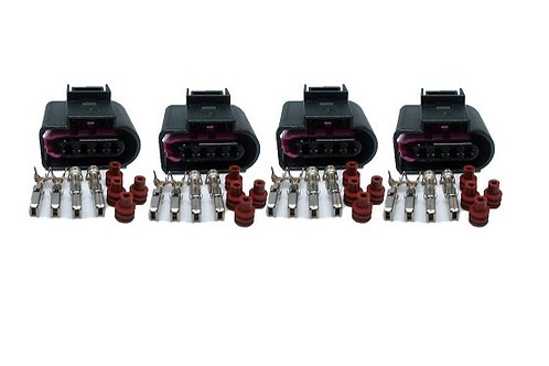 Plug Conector Bobina Ignição Voyage Gol G6 G7 Up Kit C/4 Pçs