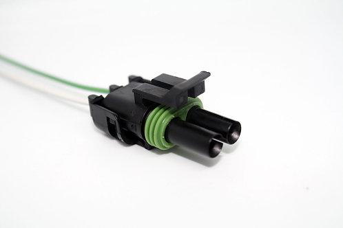Soquete Plug Conector P/ Sensor De Ré Caminhões E Ônibus