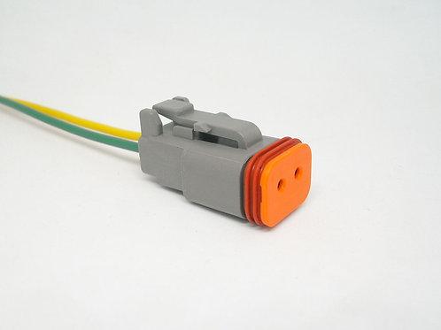 Chicote Plug Conector Fêmea Linha Agrícola Máquinas Dt06-2s MG32104