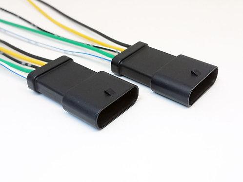 Soquete Plug Conector Macho Lanterna Traseira Renegade Com 2