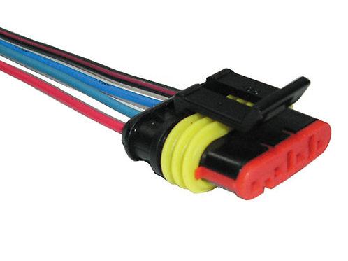 Soquete Plug Conector Flange Bomba De Combustível Fiat Palio, Uno