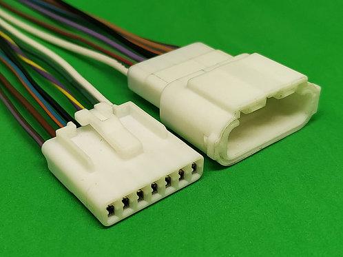 Soquete Plug Conector Retrovisor Elétrico Punto Macho Fêmea