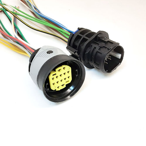 Kit Soquete Plug Conector Macho E Fêmea Para Farol Do Stilo MG3941/MG4941