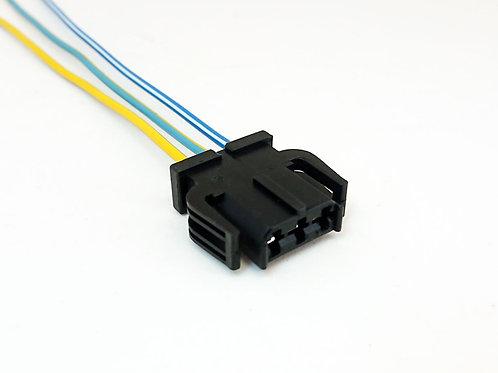 Chicote Plug Conector Luz de Teto Gol Polo, Amarok, Voyage, Saveiro G5 G6 Fox Up