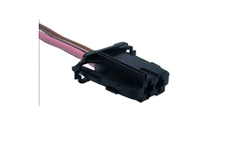 Soquete Plug Conector Para Eletro Ventilador Ar Cond. Palio
