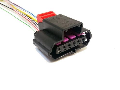 Chicote Plug Conector p/ Pedal Acelerador VW Up até 2017 Fêmea