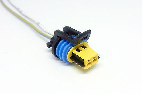 Chicote Plug Conector P/ Sensor Temperatura Ar GM; Atuador Marcha Lenta Gol, Sav