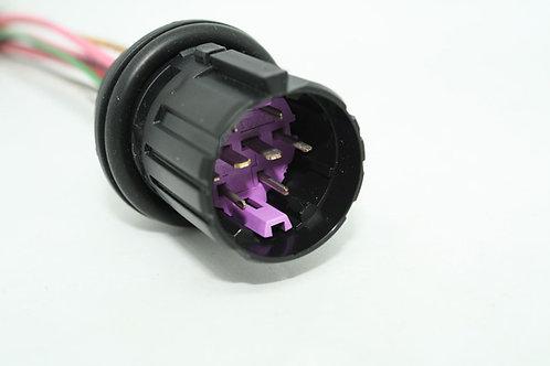 Soquete Plug Conector Macho Farol Punto