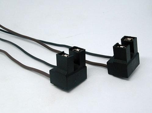 Soquete Plug Conector Para Lampada H7 Kit Com 2