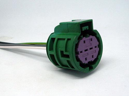 Soquete Plug Conector 8 Vias P/ Farol Fiat 500