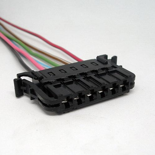Chicote Plug Conector Circuito Lanterna Traseira Fox Até 09