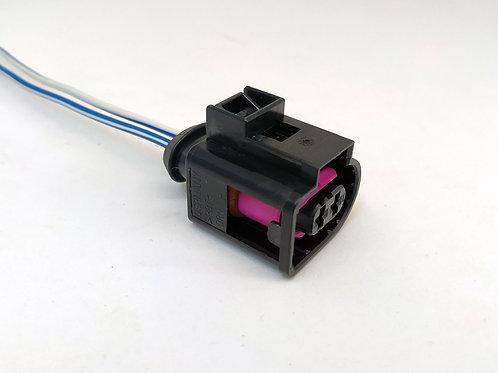 Chicote Plug Conector Fêmea Alternador VW  Ranger Troller P/77550E