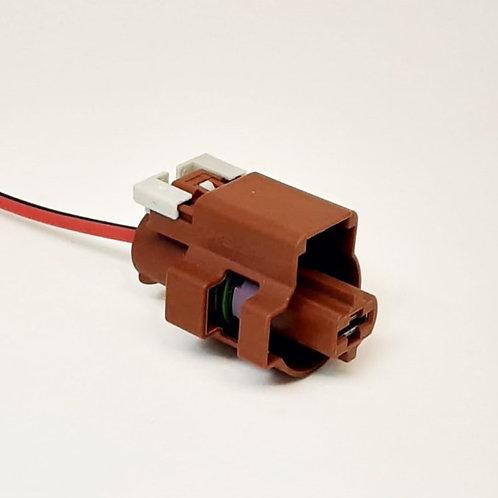 Soquete Plug Conector de Reparo Automotivo 1 via Fêmea Alta Tensão