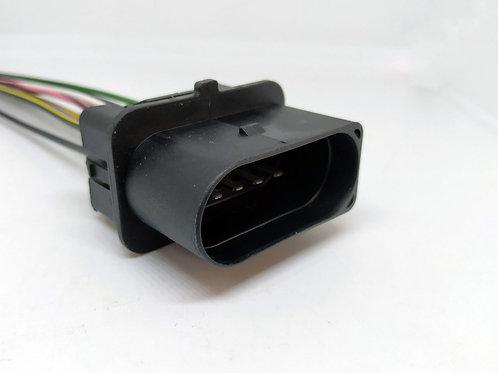 Soquete Plug Conector Macho Farol Doblô E Astra