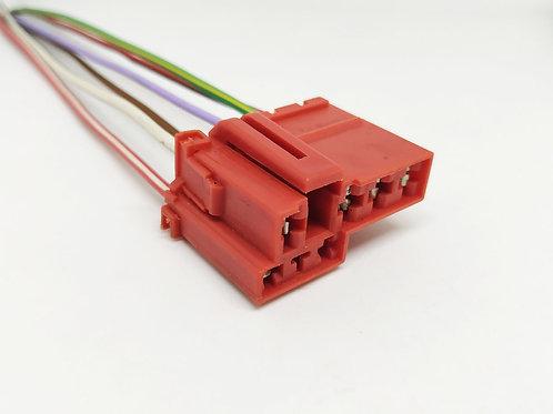 Soquete Plug Conector Botão Vidro Traseiro Gol / Voyage G5