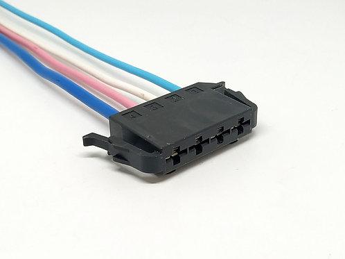 Soquete Plug Conector P/ Resistência Ar Condicionado Corsa
