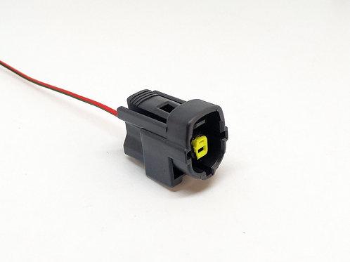 Soquete Plug Conector Solenoide Válvula Carburador Uno Mille