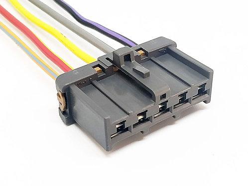 Soquete Plug Conector Resistência Do Ar Condicionado Fiat Vw