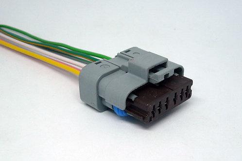 Chicote Conector P/ Bobina De Ignição C4 Pallas 2.0 6 Pinos MG3665