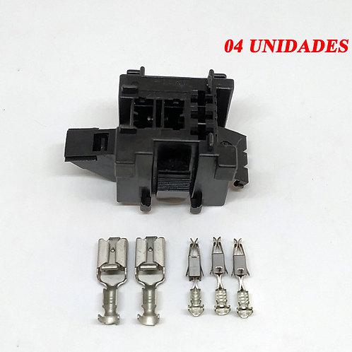 Porta Relé Auxiliar Mini 20 A 30 Amperes Desmontado Kit C4