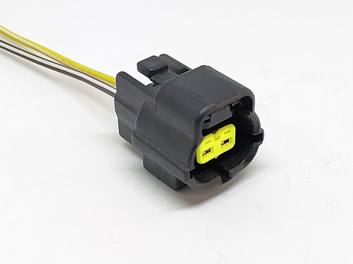 Soquete Plug Conector P/ Solenóide Tração 4x4 L200 Pajero