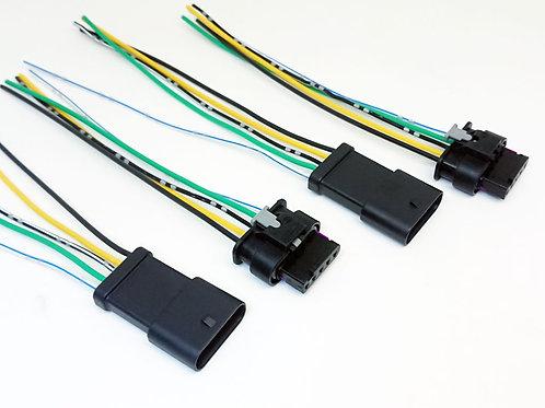 Chicote Plug Conector Lanterna Traseira Renegade Kit Com 04