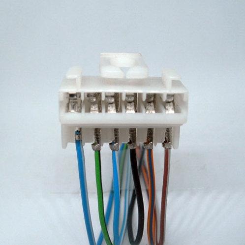 Soquete Plug Conector P/ Lanterna Traseira Brava Marea