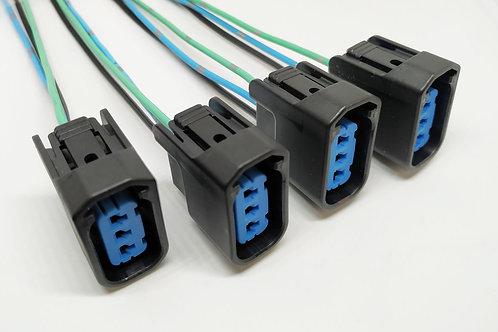 Soquete Plug Conector Bobina Ignição Honda Civic 1.7 2.0 4pç