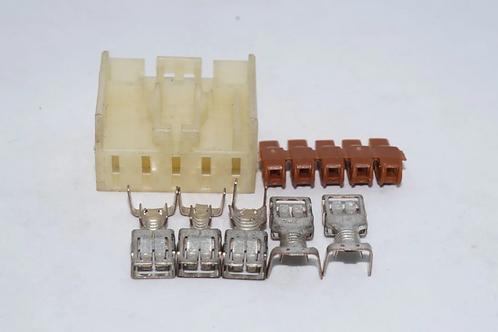 Plug Conector Ventilador Interno Gol G4 Kit
