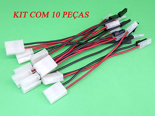 Kit Chicote do Refil da Bomba Combustível Bosch GM/Fiat/VW - Com 10 Peças