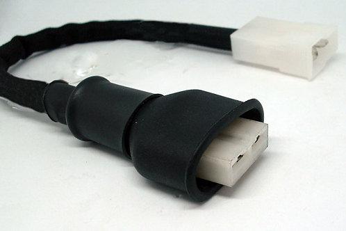 Conector Plug Chicote P/ Ventoinha Santana Gol