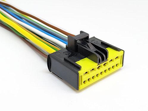 Chicote Plug Conector P/ Comando Ar Condicionado Duster 1.6 MG3954