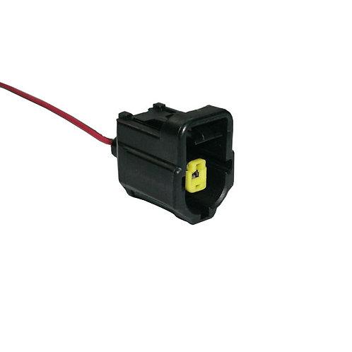 Soquete Plug Conector Interruptor Pressão Do Óleo Fiesta, Ka