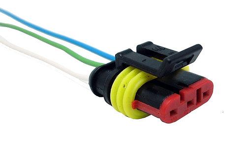 Soquete Plug Conector Bobina Ignição 3 Pinos Punto Stilo