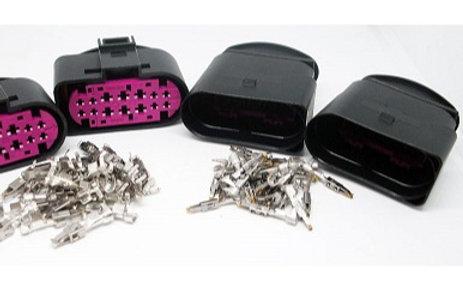 Soquete Pug Conector Adaptação Farol Xenon Vw Kit Com 4 Un