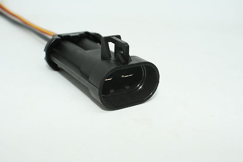 Soquete Plug Conector Macho Eletroventilador Fiat