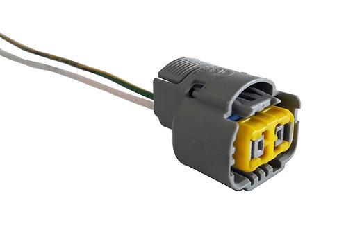 Soquete Plug Conector Farol Para Lâmpada H16 Importada.