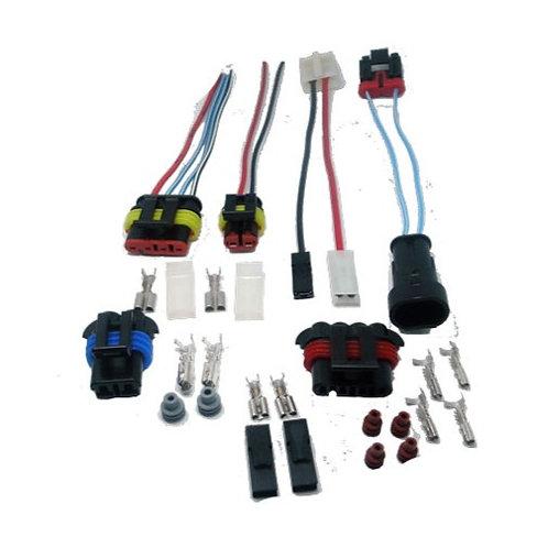Chicote Plug Conector Kit Bomba Combustível Uno Palio Fire