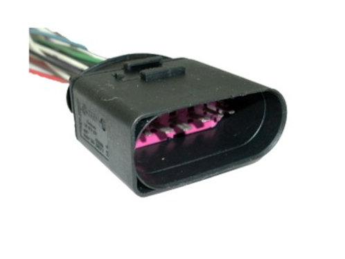 Soquete Plug Conector Macho Farol Xenon Jetta