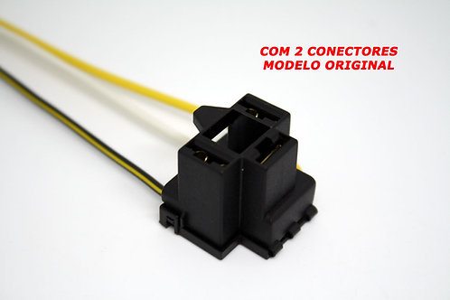 Soquete Plug Conector Farol Lâmpada H4 H5 Kit Com 02